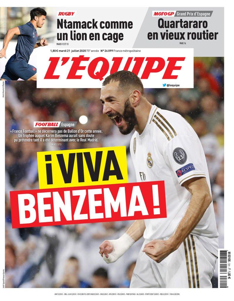Vi Har Ada Hegerberg Frankrike Har Karim Benzema Sporten Com